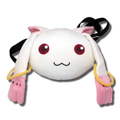 Madoka Magica Kyubey Hand-Warming Plush Bag