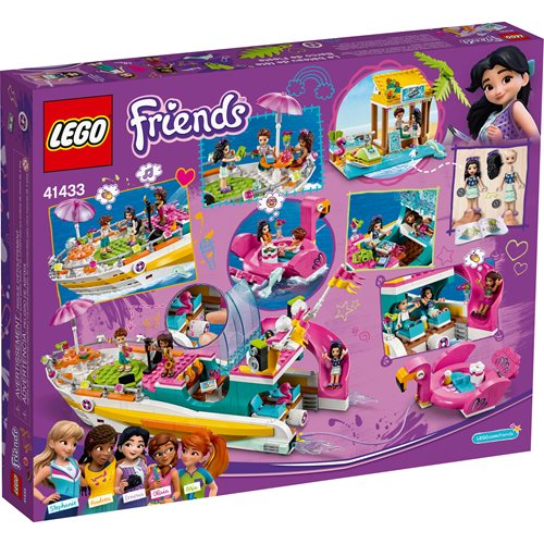 LEGO 41433 Friends Party Boat