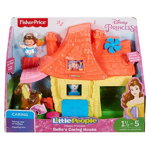 Beauty and the Beast Little People Belle's Caring House Playset