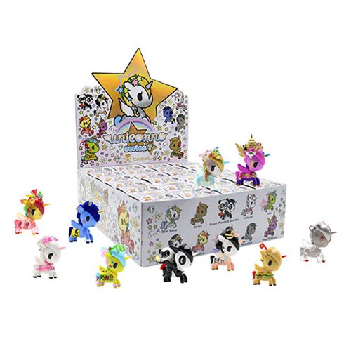 Tokidoki Unicorno Series 7 Vinyl Figure Display Box