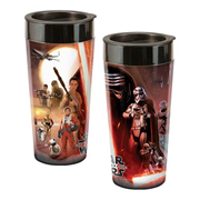 Star Wars Episode VII 16 oz. Plastic Travel Mug