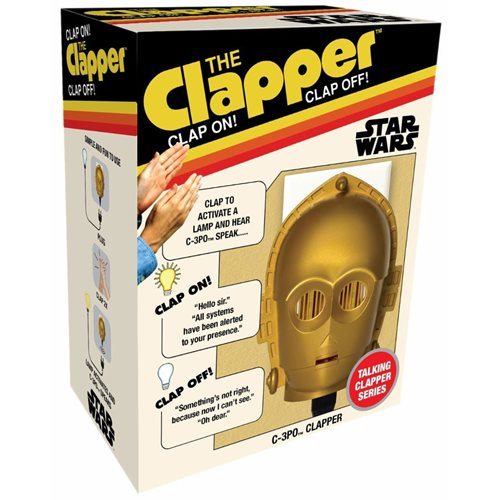 Star Wars C-3PO Clapper in Heritage Packaging