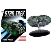 Star Trek Starships Borg Probe Vehicle with Collector Magazine #130