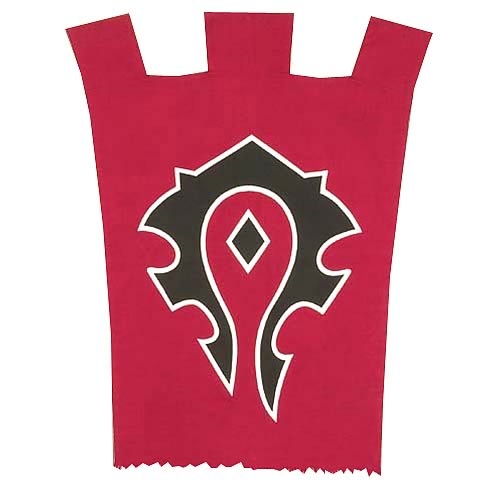 World of Warcraft Horde War Flag Replica