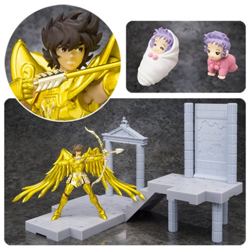 Saint Seiya Spirit in the Palace of the Centaur DD Panoramation Sagittarius Aiolos Action Figure