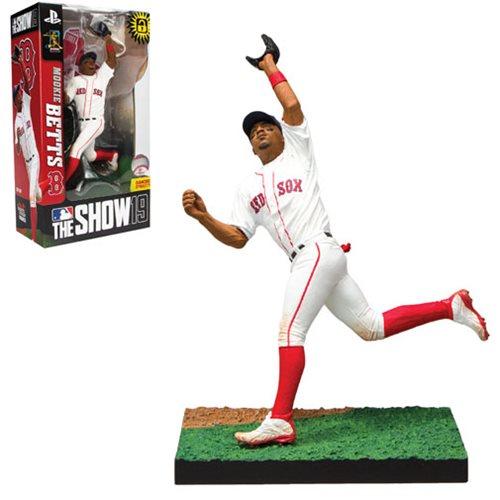 Mookie Betts Boston Red Sox McFarlane Toys MLB The Show 19 Series 1 figure