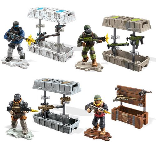 Call Of Duty Mega Construx Weapon Crate Mix 1 Case Entertainment Earth