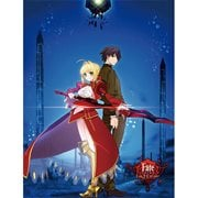 Fate/Extra Last Encore Hakuno and Saber Sublimation Throw Blanket