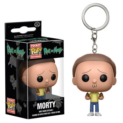 Rick and Morty Morty Pocket Pop! Key Chain