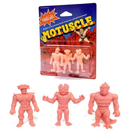 Masters of the Universe MOTUSCLE Mini-Figure C-Pack