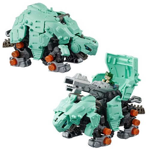 Zoids Mega Tanks Turtle-Type Action Figure Kit