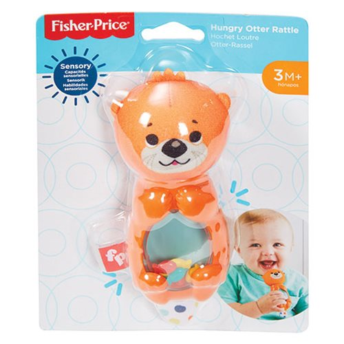 Fisher-Price Hungry Otter Rattle