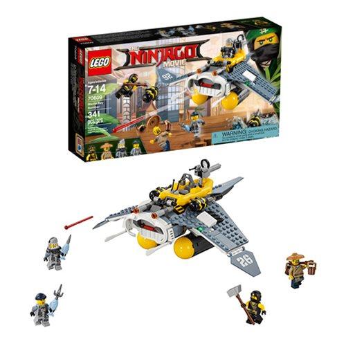 4383f4c1e LEGO Ninjago Movie 70609 Manta Ray Bomber - Entertainment Earth