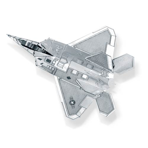 Air Force F-22 Raptor Airplane Metal Earth Model Kit