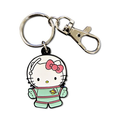 Hello Kitty Spaceman Metal Key Chain