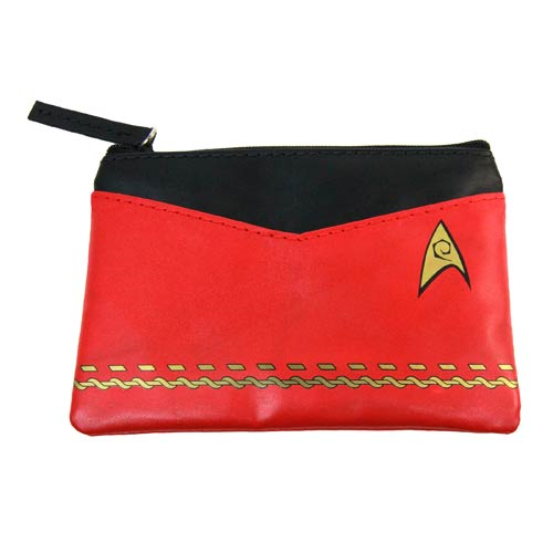 Star Trek Original Series Red Uniform Coin Purse