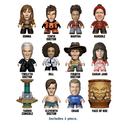 Doctor Who Series 11 Partners in Time Collection Titans Random Mini-Figure