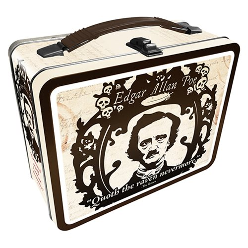 Edgar Allen Poe Gen 2 Fun Box Tin Tote