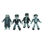 Clerks 20th Anniversary Minimates Black and White Figure Set