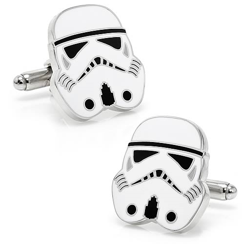Star Wars Stormtrooper Head Cufflinks