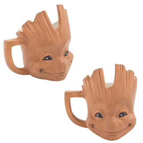 Guardians of the Galaxy Baby Groot 20 oz. Sculpted Ceramic Mug