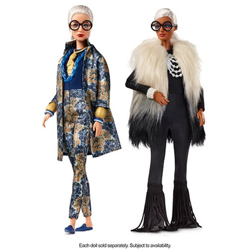 Barbie Styled by Iris Apfel Doll