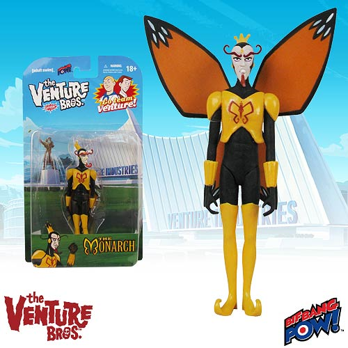 The Venture Bros. The Monarch 3 3/4-Inch Action Figure