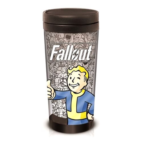 Fallout Vault Boy Travel Mug