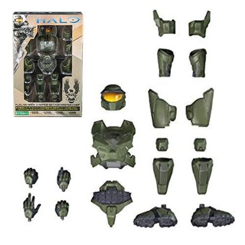 Halo Master Chief Mark V Armor Set Accessory