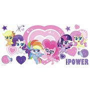 My Little Pony Let's Get Magical Peel and Stick Giant Wall Decals