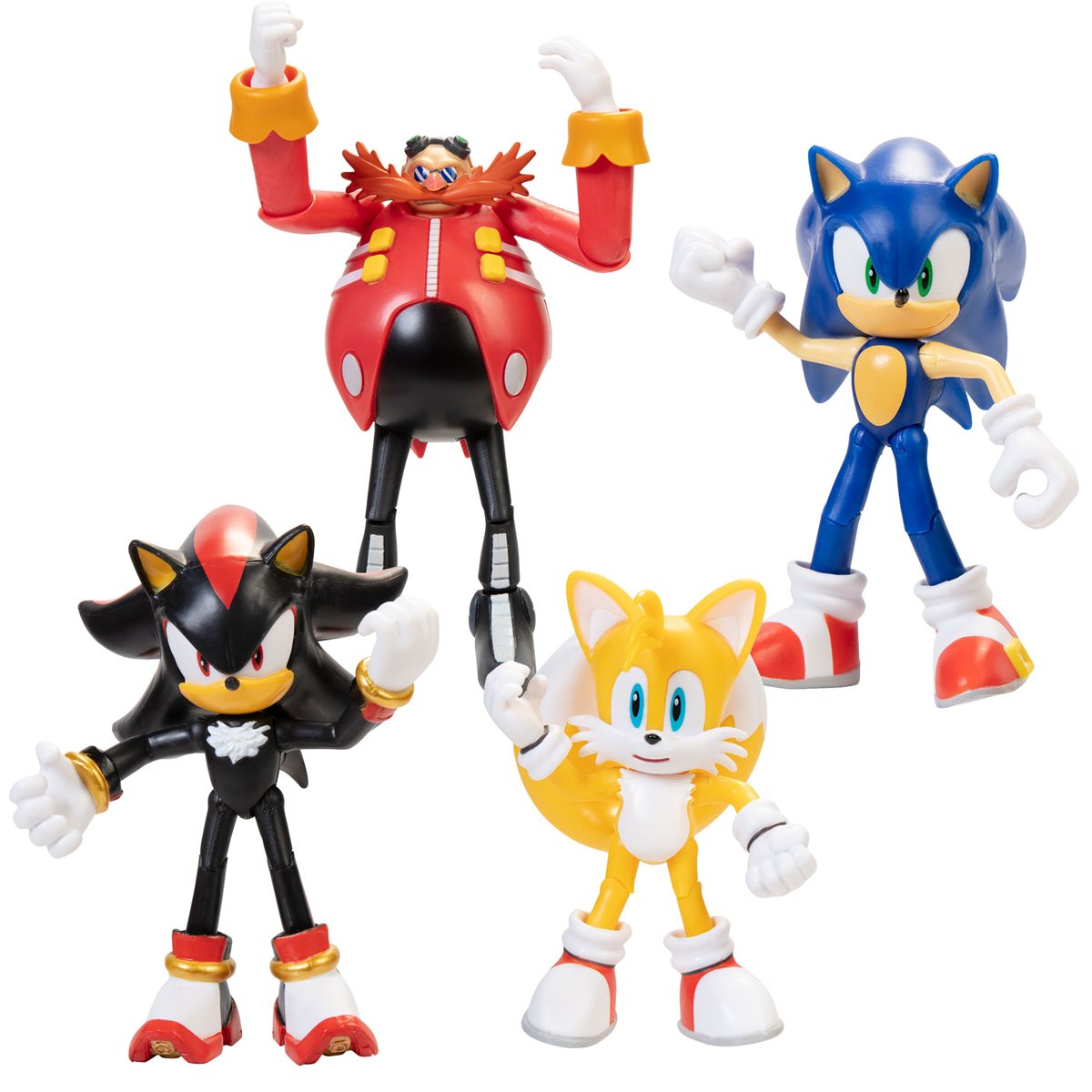 Sonic The Hedgehog 4 Inch Action Figure With Accessory Wave 1 Case Entertainment Earth