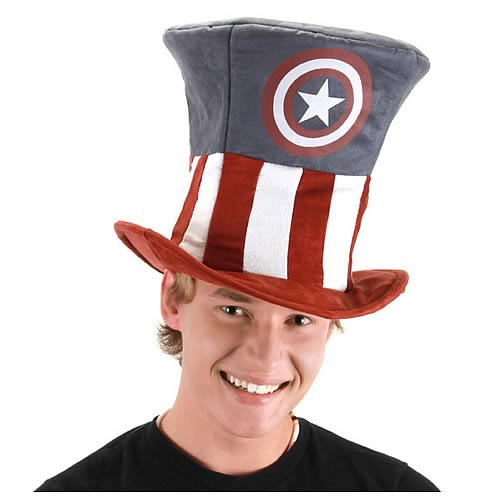 6a663f8b76c Captain America Novelty Hat - Entertainment Earth