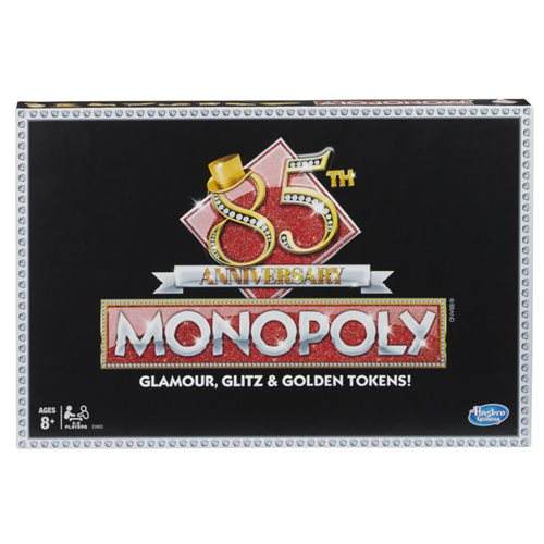 Monopoly 85th Anniversary Edition Board Game - English