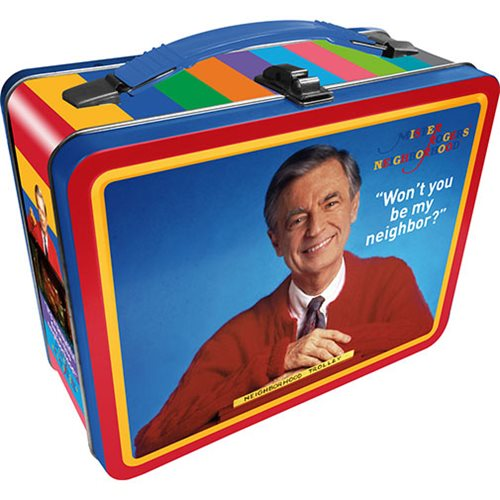 Mister Rogers Gen 2 Fun Box Tin Tote