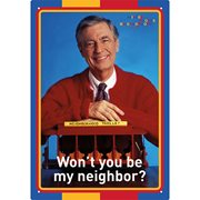 Mr. Rogers Neighbor Tin Sign