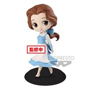 Beauty and the Beast Village Belle Pastel Version Q Posket Statue