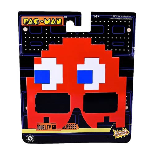 Pac-Man Blinky Sun-Staches