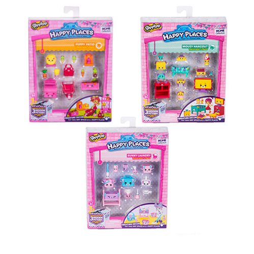 Shopkins Happy Places Series 2 Decorator Pack Case