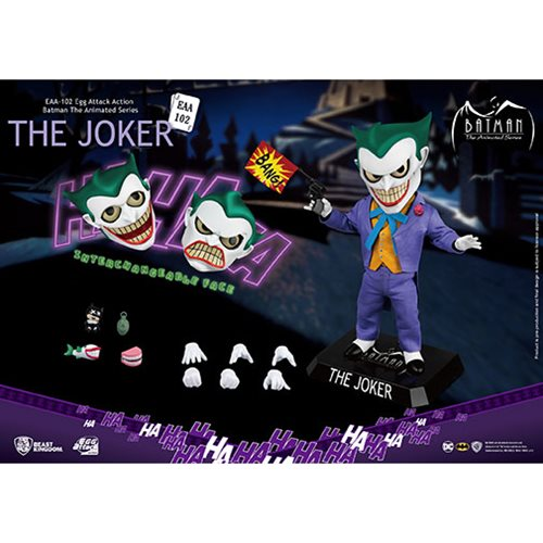 Batman: The Animated Series Joker EAA-102 Action Figure - Previews Exclusive