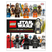 LEGO Star Wars Character Encyclopedia Updated and Expanded Hardcover Book