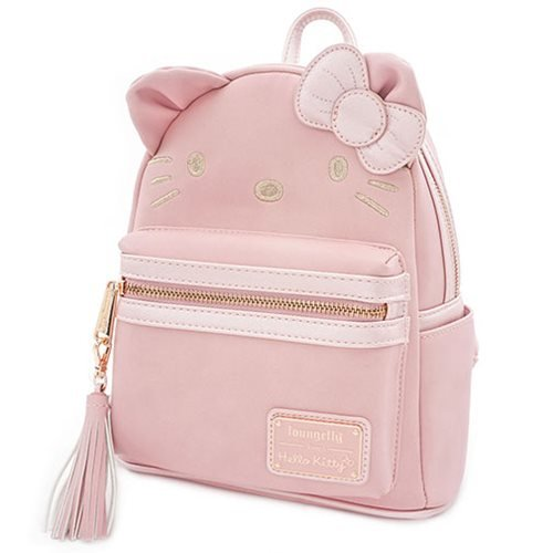 Hello Kitty Metallic Pink Mini-Backpack