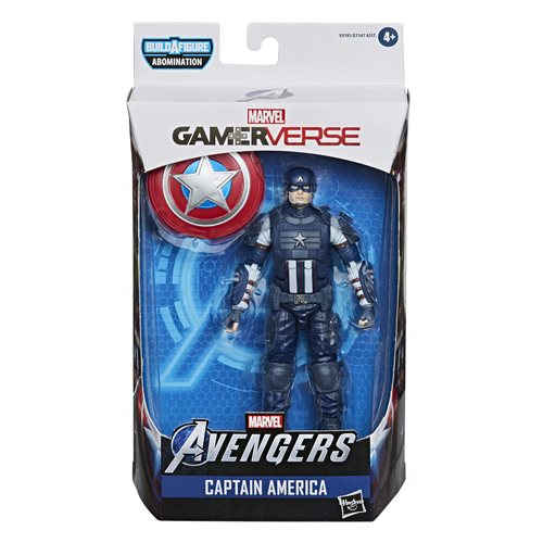 Avengers Video Game Marvel Legends 6-Inch Captain America Action Figure