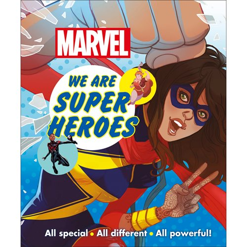 Marvel We Are Super Heroes: All Special, All Different, All Powerful! Hardcover Book