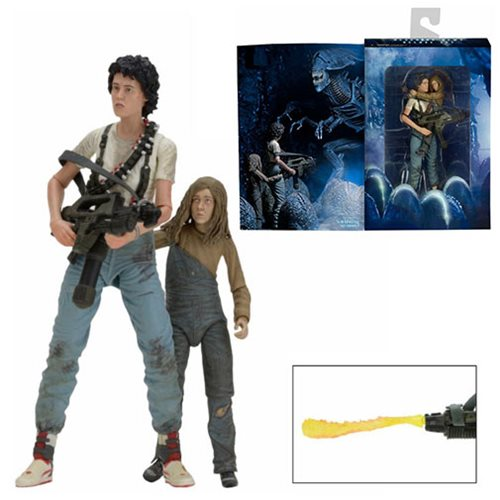 Aliens 30th Anniversary Ripley and Newt Deluxe Action Figure 2-Pack