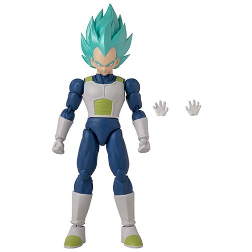 Dragon Ball Stars Super Saiyan Blue Vegeta Version 2 Action Figure