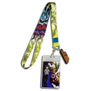 My Hero Academia Deku and All Might Lanyard