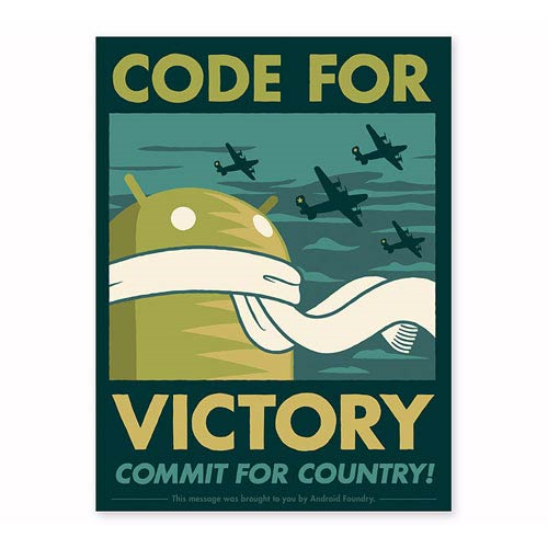 Android Code For Victory Lithograph