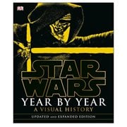 Star Wars Year by Year A Visual History Updated Edition Hardcover Book