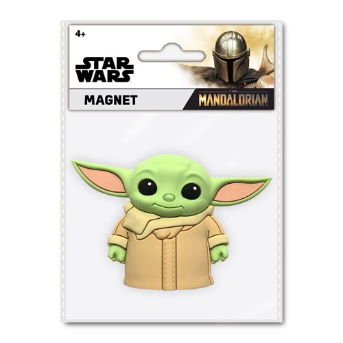 Star Wars: The Mandalorian The Child 3D Foam Magnet