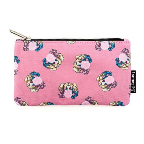 Harley Quinn Bubble Gum Pink Nylon Pouch